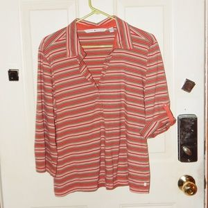 Tommy Hilfiger Striped Snap front Shirt